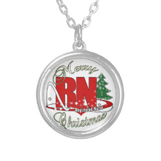 RN CHRISTMAS Registered Nurse Personalized Necklace