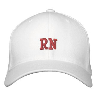 RN EMBROIDERED HATS
