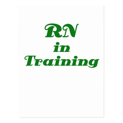 RN en el entrenamiento Postales