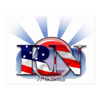 RN en los E.E.U.U. (ENFERMERA REGISTRADOA) Tarjetas Postales