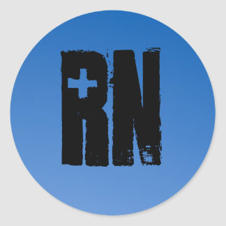 RN for men by men Stickers