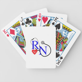 RN FULL FRONT BICYCLE PLAYING CARDS