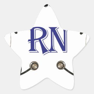 RN Go to Sleep Star Sticker