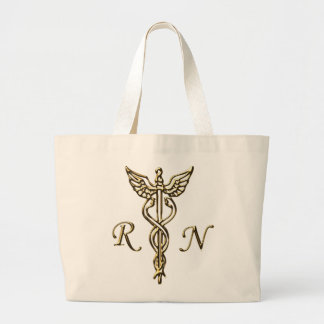 RN Gold Tote Bags