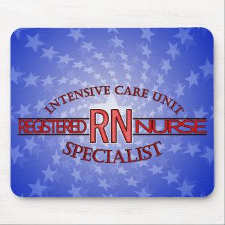 RN ICU SPECIALIST NURSE MOUSE PAD