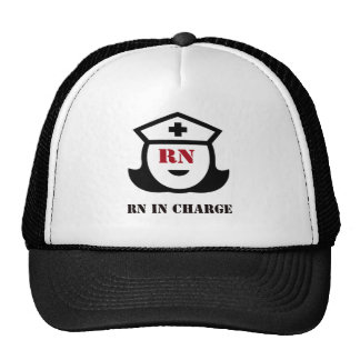 RN in Charge Trucker Hat
