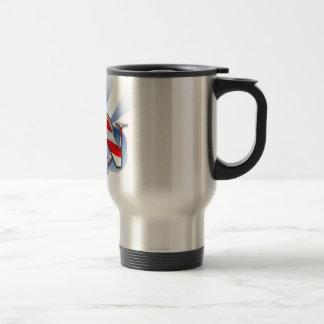 RN in the USA (REGISTERED NURSE) PATRIOTIC Travel Mug