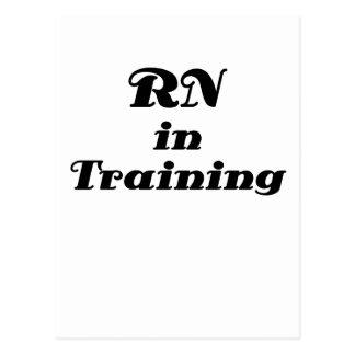 RN in Training Postcard