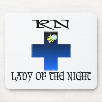 RN-Lady of The Night Mouse Pad