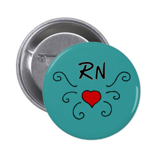 RN Love Tattoo Button
