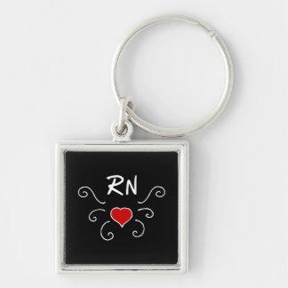 RN Love Tattoo Keychain