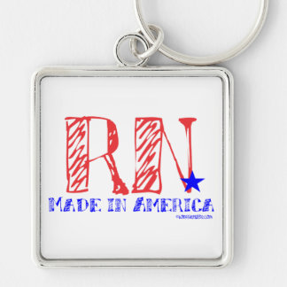 RN - Made in America Keychain