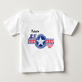 RN MADE IN AMERICA - REGISTERED NURSE PATRIOTIC BABY T-Shirt