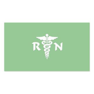 RN Medical Symbol Business Card Template