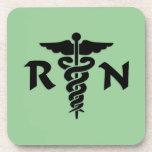 RN Medical Symbol Coasters