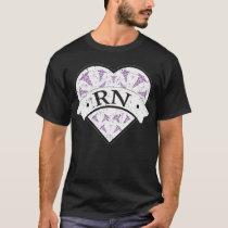 RN Nurse Gift Heart Medical Nurse T Shirt Funny