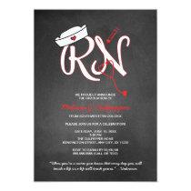 RN nurse graduation party pinning ceremony invites