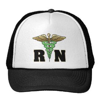 RN Nurse Mesh Hat