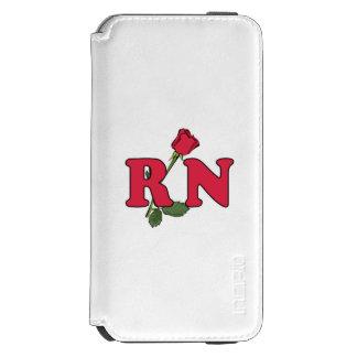 RN Nurse Rose iPhone 6/6s Wallet Case