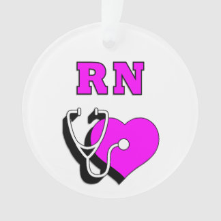 RN Nurses Care Ornament