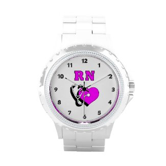 RN Nurse Personalized Watches