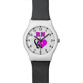 RN Nurses Care Wristwatch