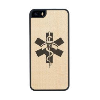 RN Nurses Carved® Maple iPhone 5 Slim Case