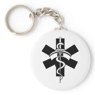 RN Nurses keychain