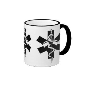 RN Nurses Ringer Coffee Mug