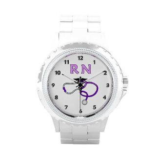 RN Nurses Stethoscope Wristwatches