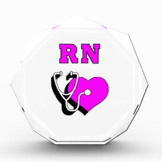 RN Nursing Care Acrylic Award