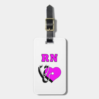 RN Nursing Care Bag Tag