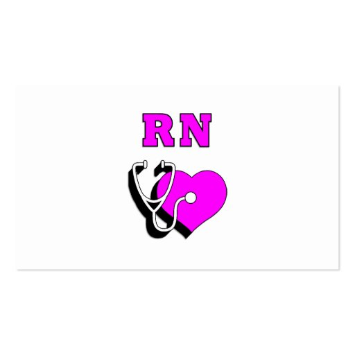 Rn nursing care business card zazzle for Nursing business cards