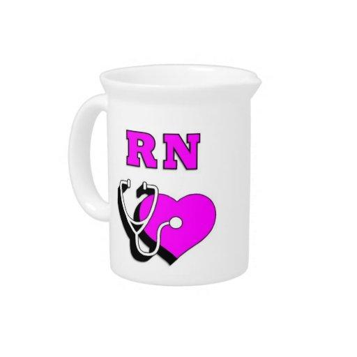 RN Nursing Care Drink Pitcher