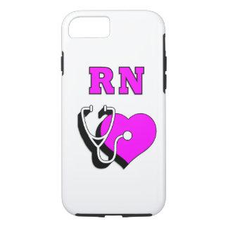 RN Nursing Care iPhone 7 Case