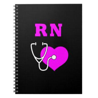 RN Nursing Care Spiral Notebooks