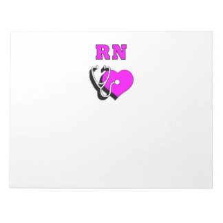 RN Nursing Care Notepad