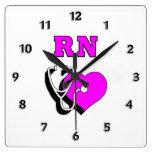 RN Nursing Care Wallclock