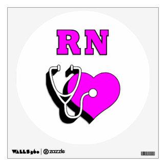 RN Nursing Care Wall Skin