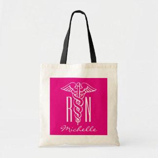 RN nursing tote bag for registered nurse or lpn