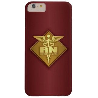 RN (oro) (diamante) Funda Barely There iPhone 6 Plus