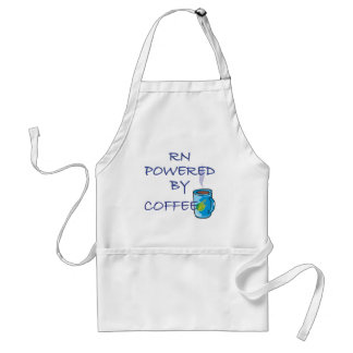 RN POWERED BY COFFEE ADULT APRON