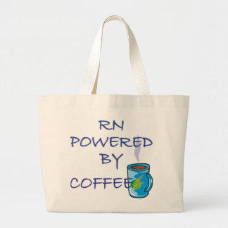 RN POWERED BY COFFEE TOTE BAGS