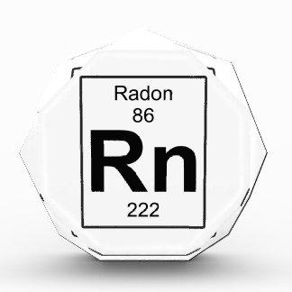 Rn - Radon Acrylic Award