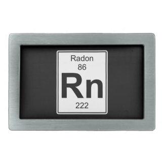 Rn - Radon Belt Buckle
