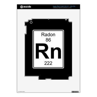 Rn - Radon Decal For iPad 3