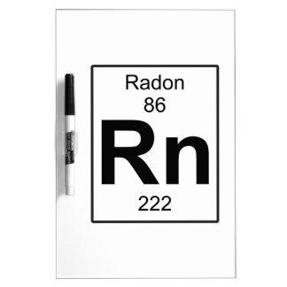 Rn - Radon Dry-Erase Board