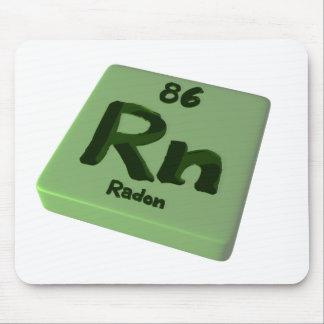 Rn Radon Mouse Pad