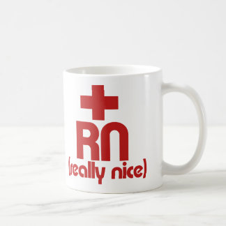 RN Really Nice Nurse Graduation Mug