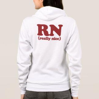 RN Really nice nurse Hoodie